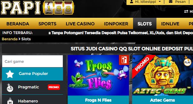 Situs Game Slot Online Deposit Pulsa Terbaik Di Indonesia
