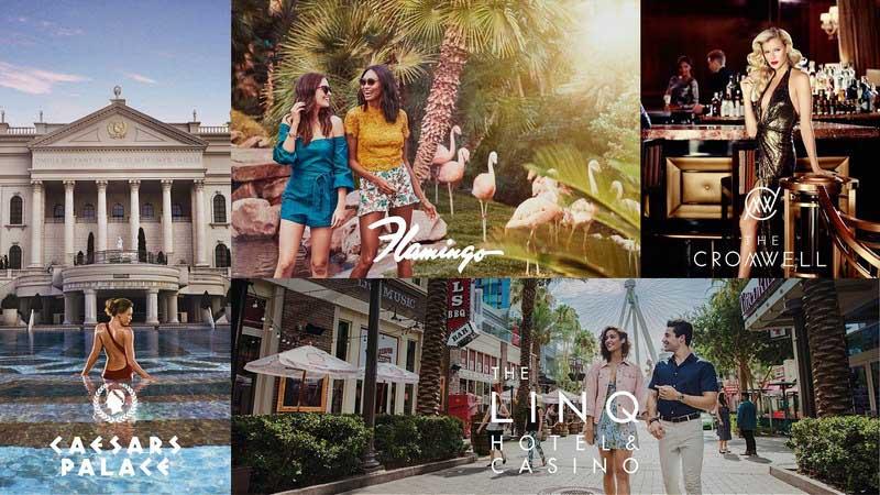 Caesars Entertainment menawarkan peluang perizinan untuk merek-merek utama